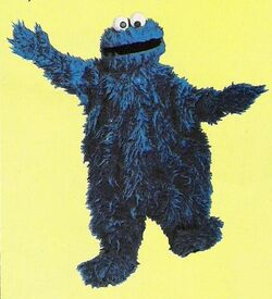 Full body cookie monster 1st live