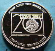 Ernie coin 1988 20th anniversary 2