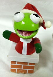 Wood muppet babies christmas ornaments kermit piggy 2