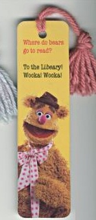 Muppet bookmarks (Antioch)