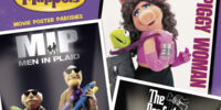 The Muppets Movie Poster Parodies Sixteen-Month 2012 Calendar