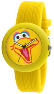 Viva time rubber strap watch big bird