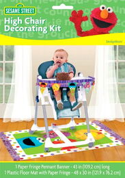 1st Birthday High Chair Decorating Kit