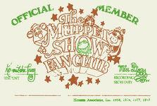 Fanclub card