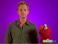 Backstage with Elmo - Neil Patrick Harris