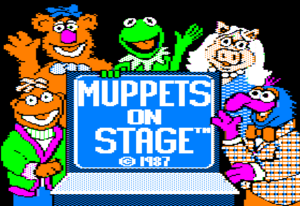 Muppets On Stage screen 1 - title