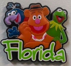 Disney florida magnet 2