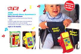 Tyco 1998 softy sounds phone