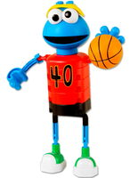 Cookie monster basketball knex