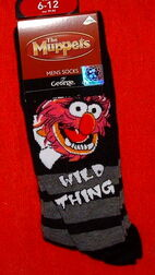 Asda socks wild thing