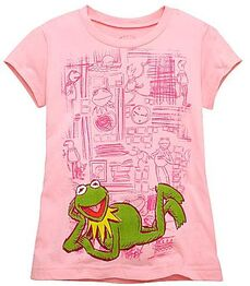 Kermit Tee for Girls