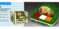 Sesame Street preschool toys (Illco)