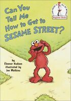 Can You Tell Me How to Get to Sesame Street? (1997 book)
