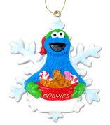 Cookie snowflake ornament