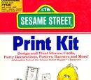 Sesame Street Print Kit