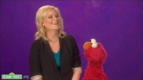 Sesame Street Amy Poehler-Laughing
