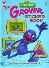 The Grover Sticker Book