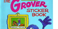 The Grover Sticker Book
