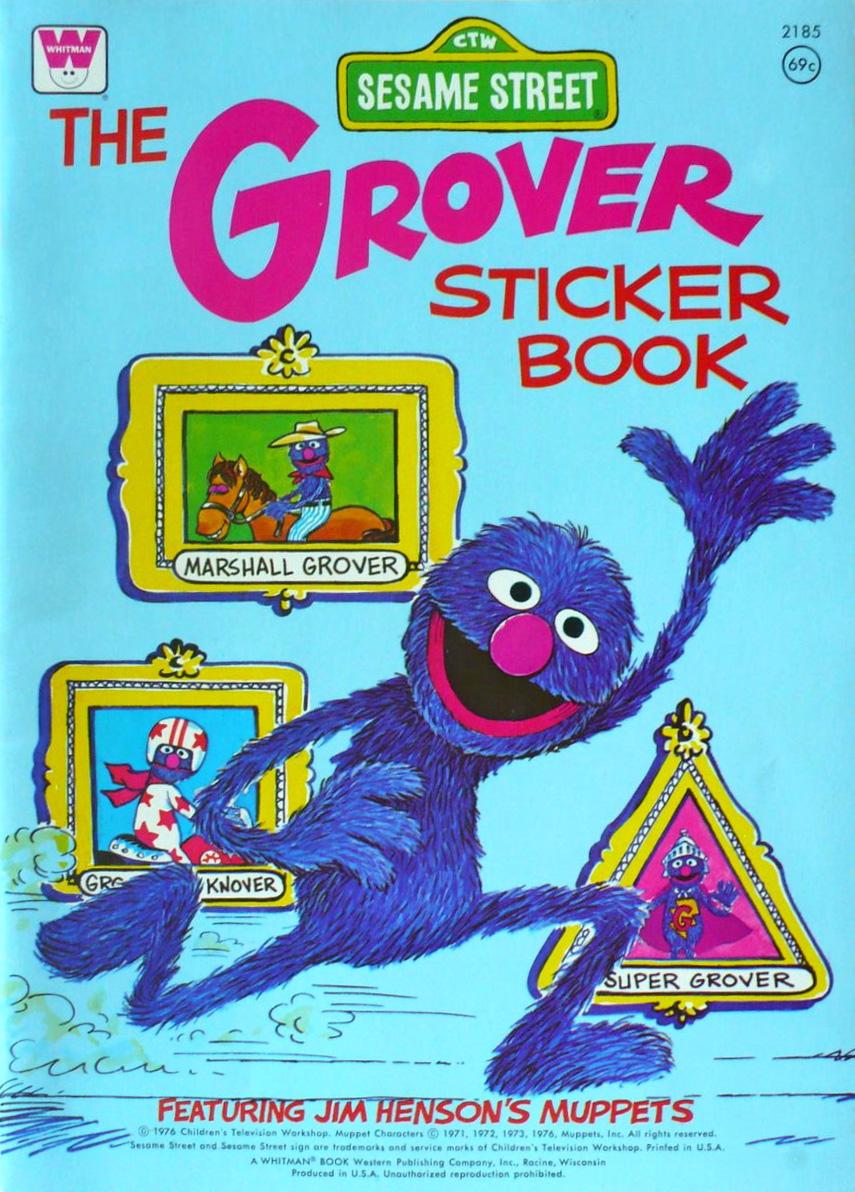 The Grover Sticker Book Muppet Wiki Fandom Powered By