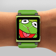 IPod Nano Kermit Clock
