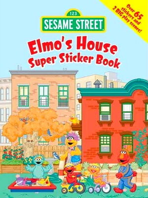 Dover elmos house super sticker book