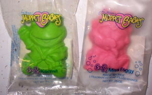 Avon muppet babies magic sponge kermit piggy