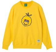 Pancoat sweatshirt big bird yellow turn