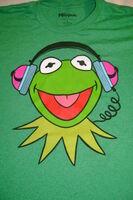 Tshirt-Kermitheadphones