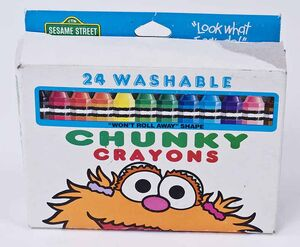 Toys - Sesame Street - Chunky Crayons