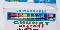 Sesame Street Chunky Crayons