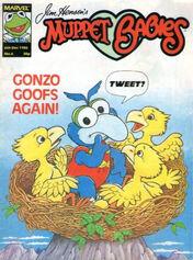 Muppet babies weekly uk 6 dec 1986