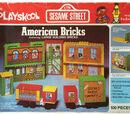 Sesame Street American Bricks
