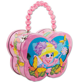 Abby flying friends tin purse
