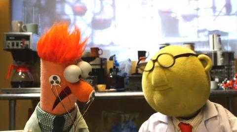 Flowers On The Wall with Bunsen and Beaker Muppets Music Video The Muppets
