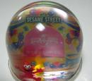 Sesame Street snowglobes (Universal Studios Japan)
