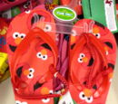 Sesame Street flip-flops (Children's Apparel Network)