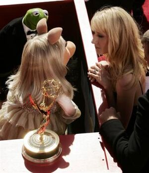 Anne Heche 56th Emmy Awards