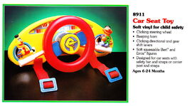 Tyco 1993 car seat toy