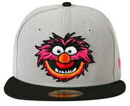 New era 2013 59fifty animal gray cap 1