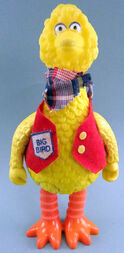 Knickerbocker 1980 big bird figure 1
