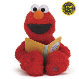 Gund 2014 nursery rhyme elmo talking plush