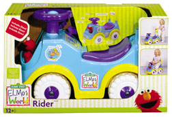 Processed plastic company pp elmo's world rider 2