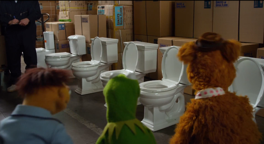 Muppets Gonzo Toilet humor   Muppet ...