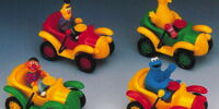 Sesame Street Old Time Cars
