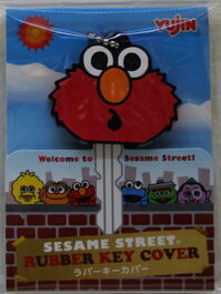 Sanrio key cover elmo