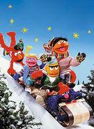 Sesame-sledding