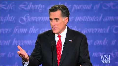 Mitt Romney Loves Big Bird - Presidential Debate