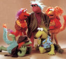 Fraggle Rock dolls (Tomy)
