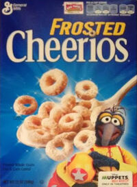 Frosted Cheerios Gonzo