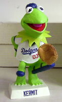 Kermit dodgers bobble head